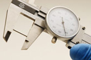 Measuring a Barbell's Length with Dial Calipers