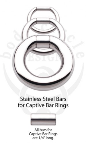 Replacement Bars for Captive Bar Rings