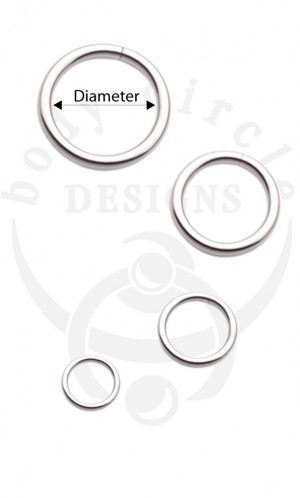 Continuous Rings - 316LVM Stainless Steel