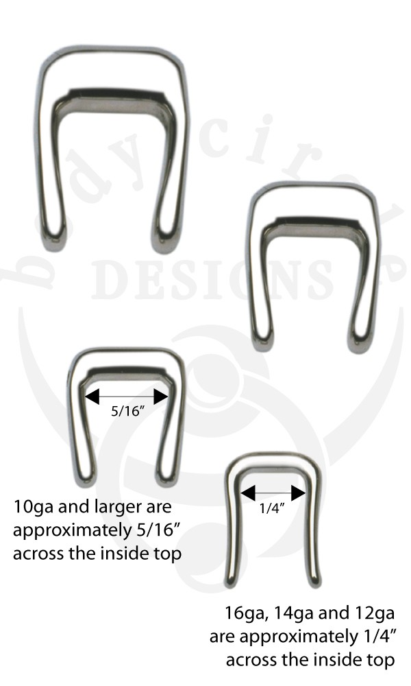 Septum Retainers 316lvm Stainless Steel Unique Body Circle